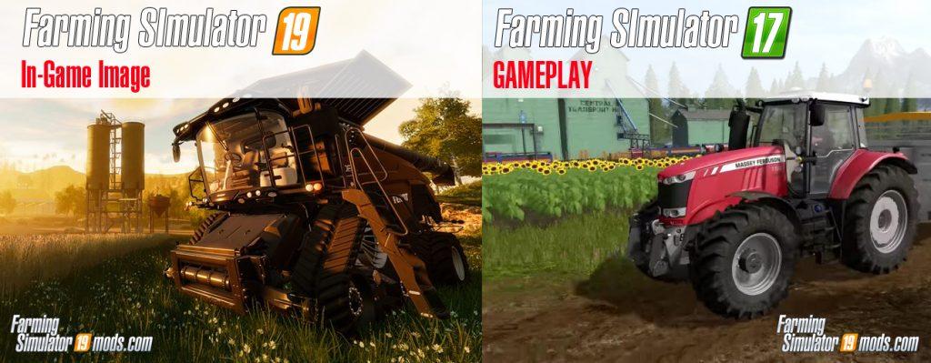Lets Compare Farming Simulator 19 vs FS17 - Farming Simulator 19 Mod