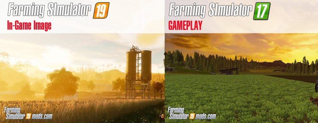 Lets Compare Farming Simulator 19 vs FS17 - Farming