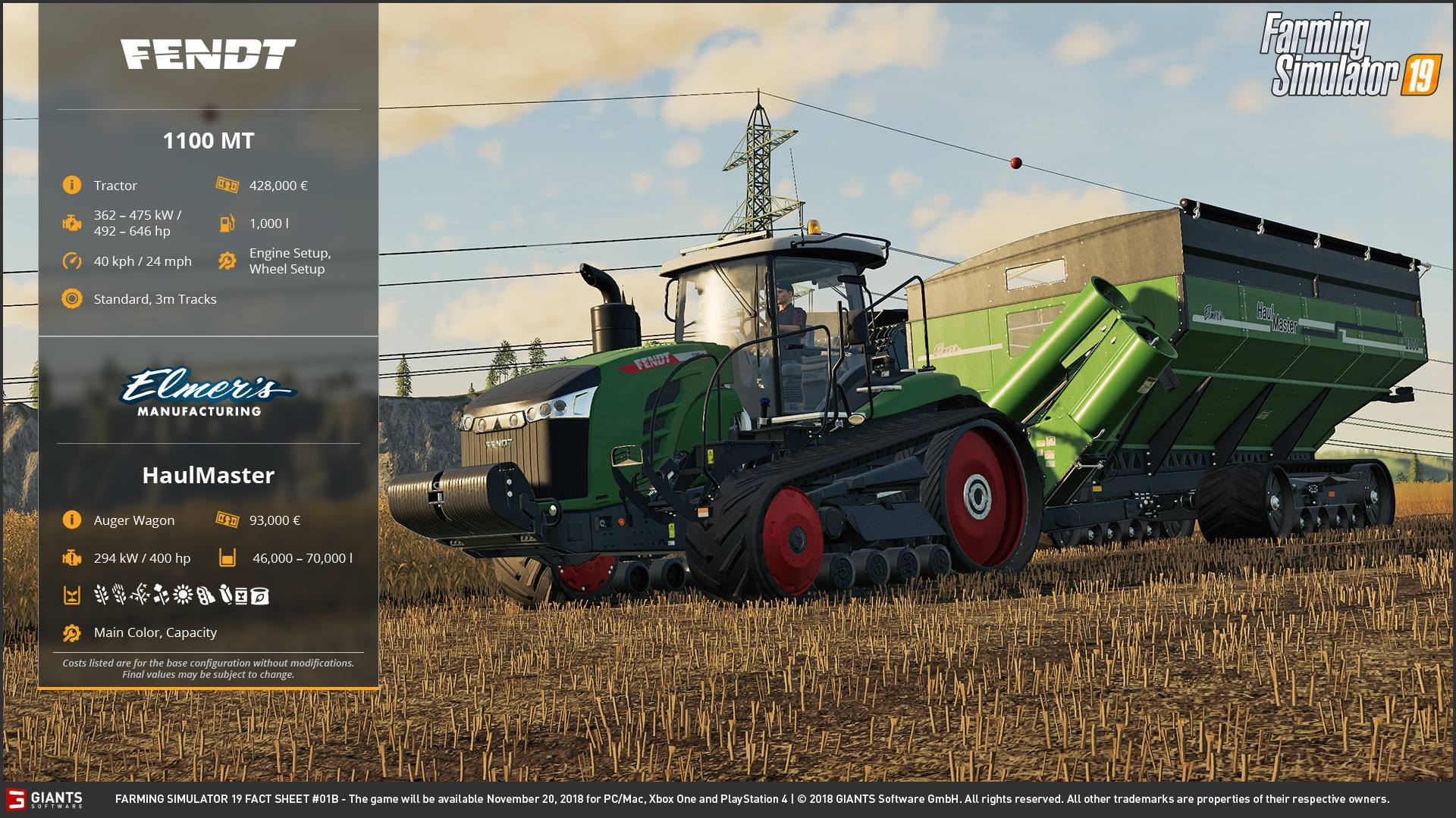 Farming Simulator 19: Vehicles & Device List Update! - Farming