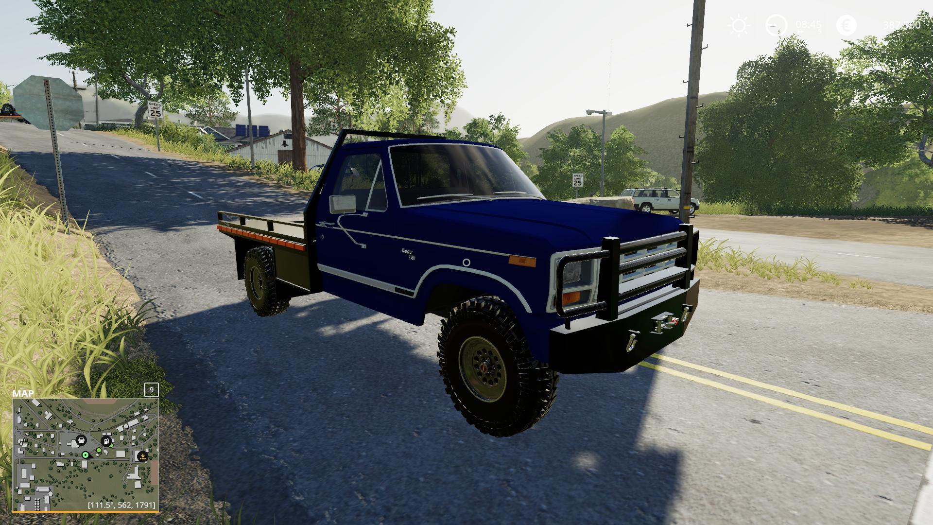 1983 Ford f150 Car v1 0 FS19 - Farming Simulator 19 Mod