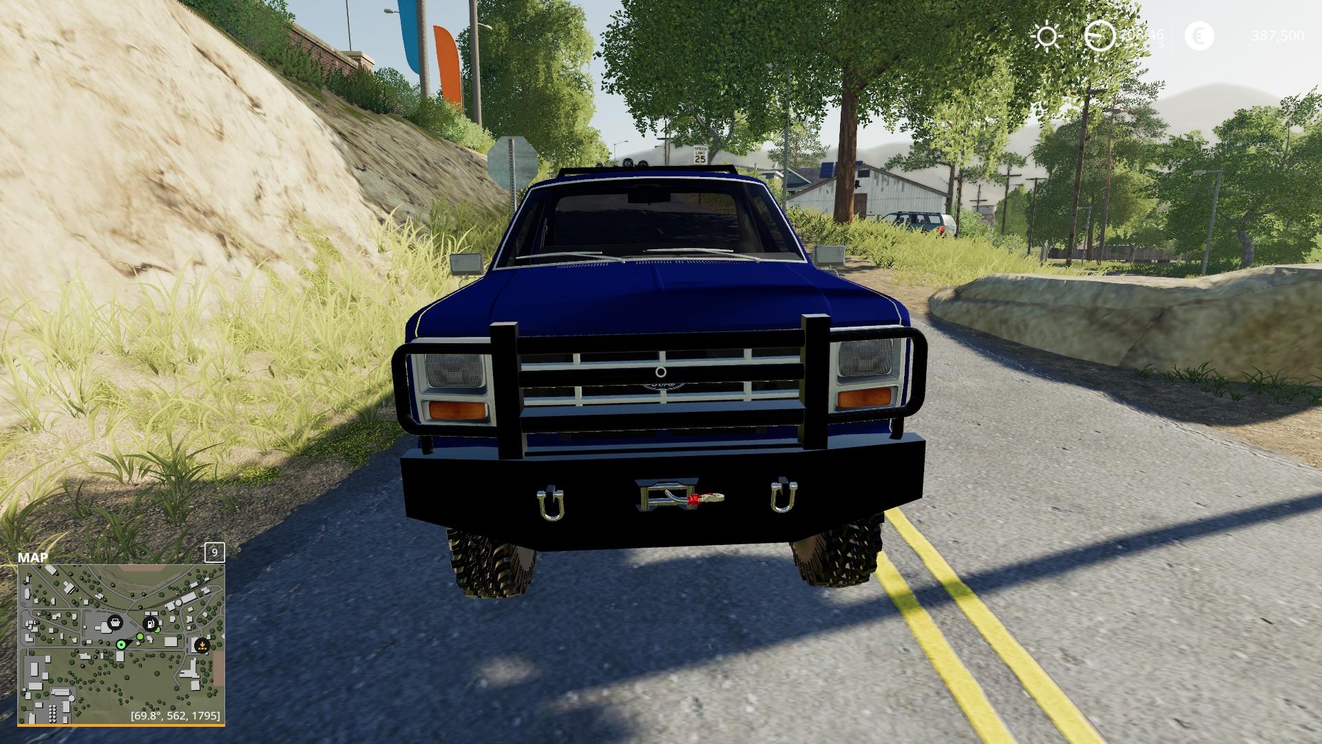 1983 Ford f150 Car v1.0 FS19 - Farming Simulator 19 Mod | FS19 mod
