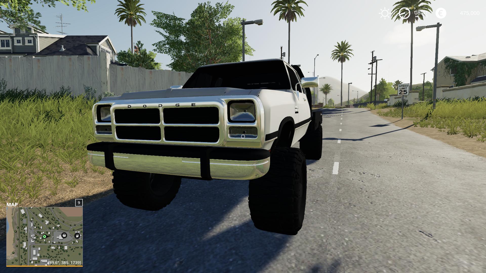 1st Gen Cummins Flatbed Car v2 0 FS19 - Farming Simulator 19 Mod