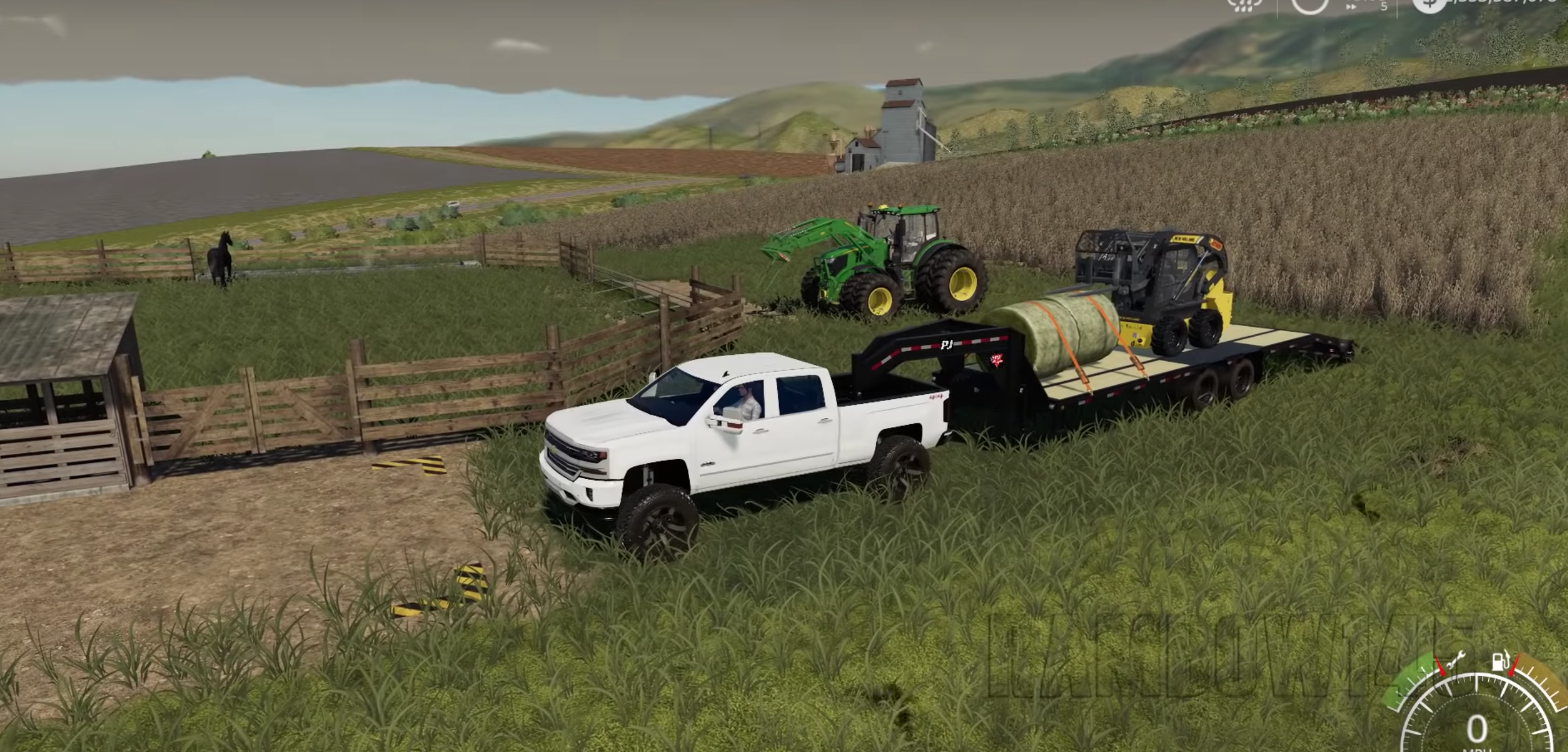 FS19 - First Chevy Truck and Gooseneck mod! - Farming