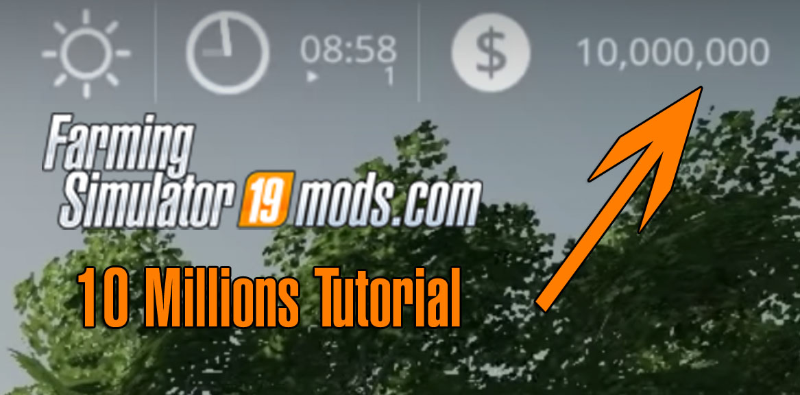 Farming Simulator 19 - Money Cheat for PC - Farming Simulator 19 Mod