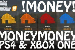 Farming Simulator 19 Money Cheat On Ps4 Xbox One Farming Simulator 19 Mod Fs19 Mod