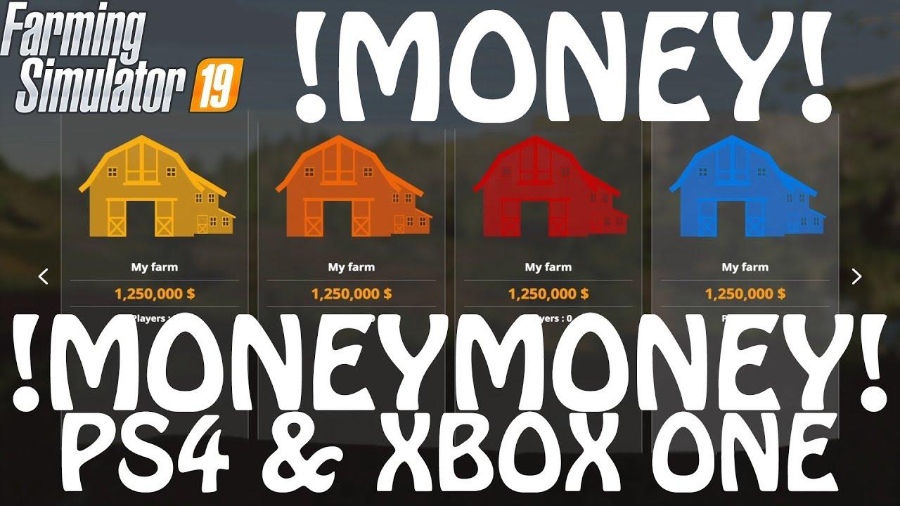 Farming Simulator 19 Money Cheat On Ps4 Xbox One Farming