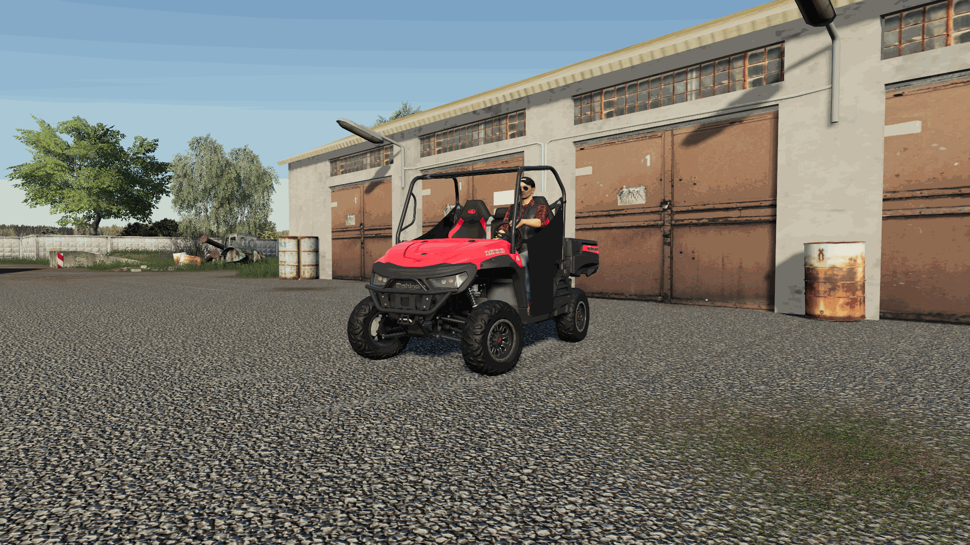 Mahindra Retriever 1000 FS19 - Farming Simulator 19 Mod