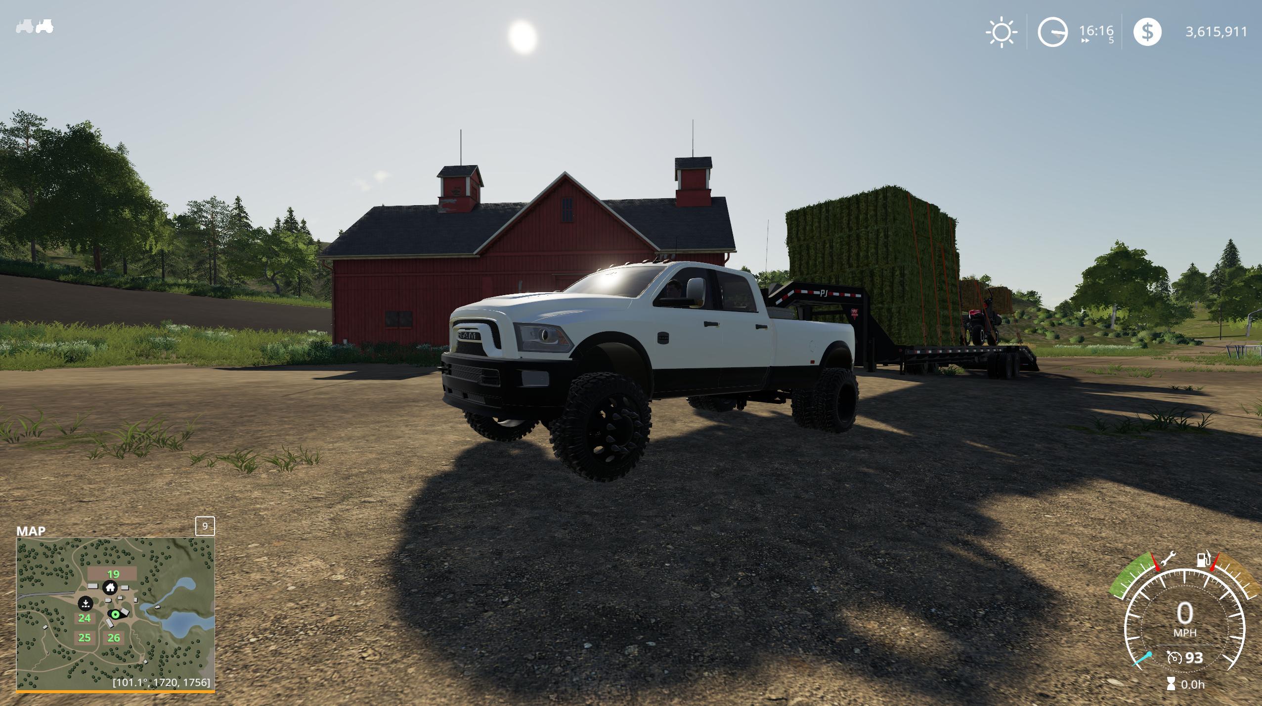 Dodgeram 3500 V1 0 Fs19 Farming Simulator 19 Mod Fs19 Mod