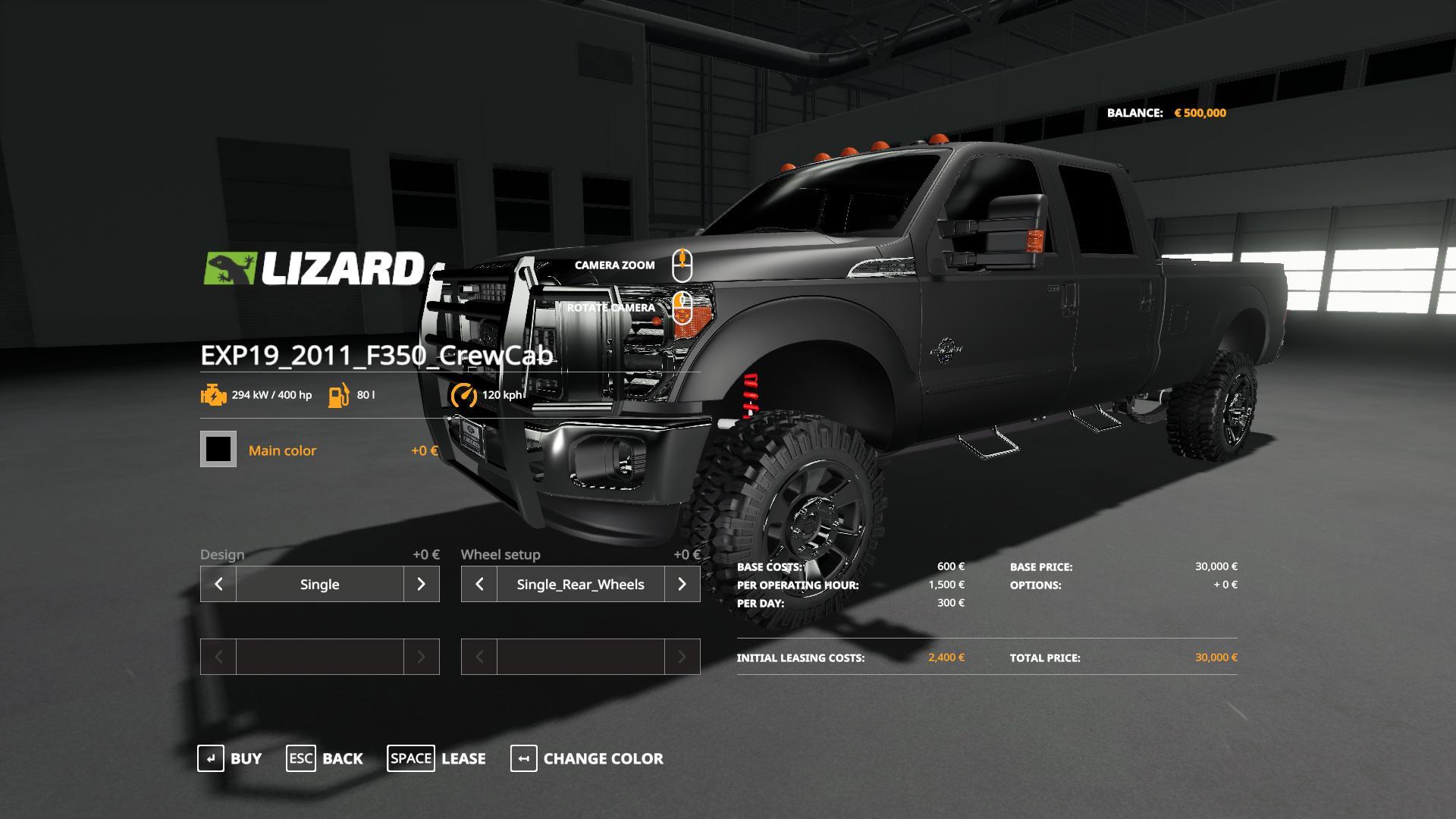 Ford F350 Crew Cab beta V1 0 FS19 - Farming Simulator 19 Mod