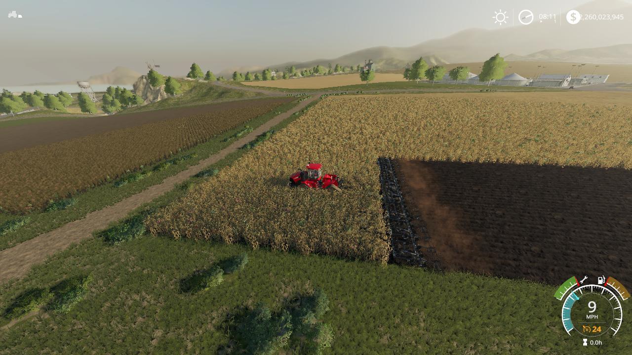 Flexicoil ST820 Plow VE Washable v1 0 FS19 - Farming