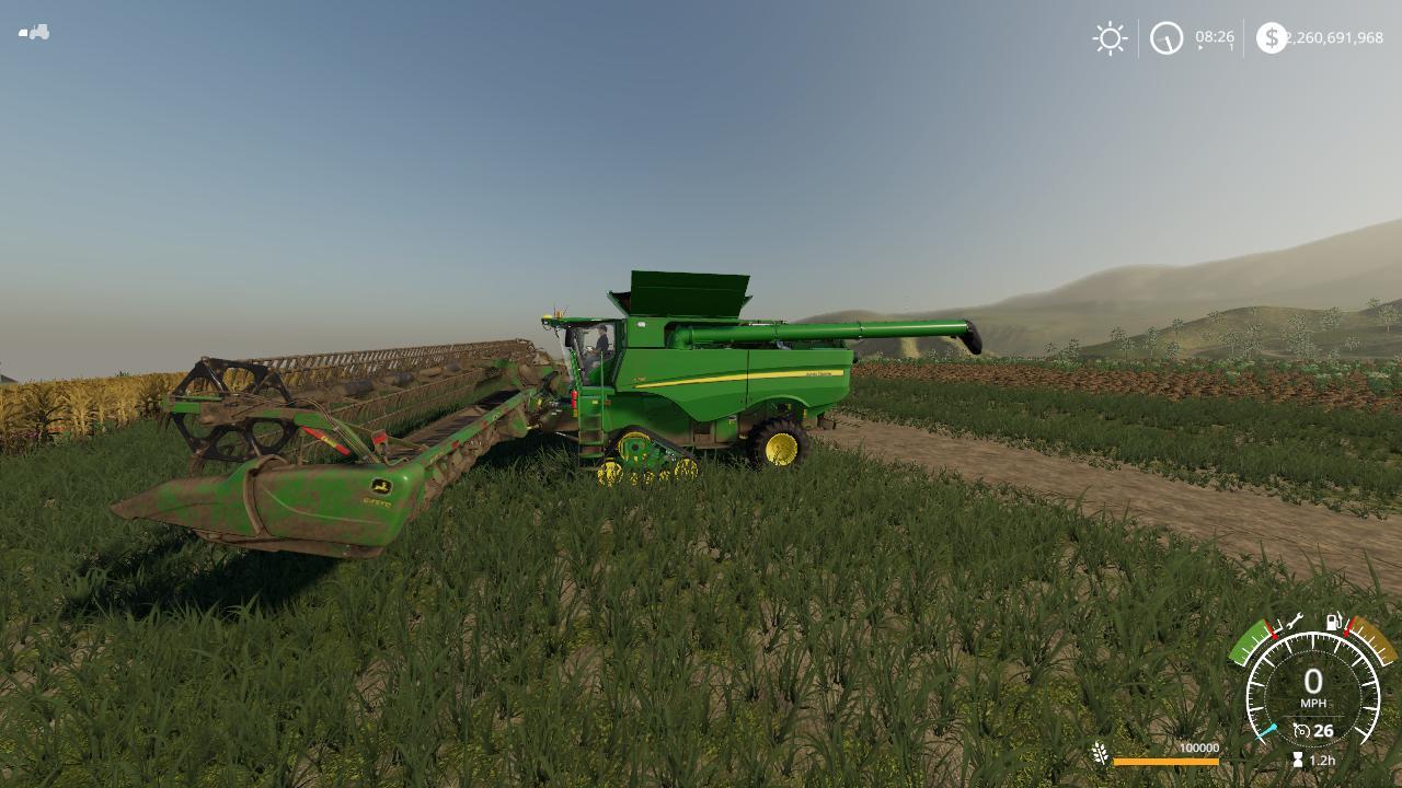John Deere S790 VE Combine Pack v1 0 FS19 - Farming