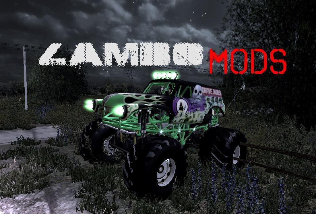 Grave Digger Monster Truck V1 0 Fs19 Farming Simulator 19 Mod Fs19 Mod