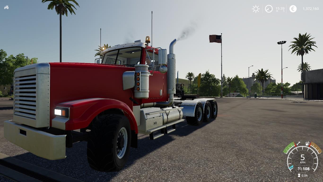 Hulk Semi Truck V1 0 FS19 - Farming Simulator 19 Mod   FS19 mod