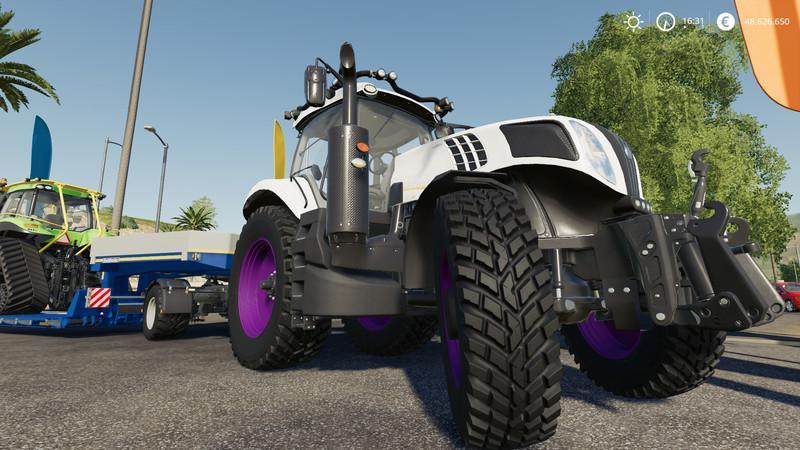 New Holland T8 Tractor Tuning v1 0 FS19 - Farming Simulator