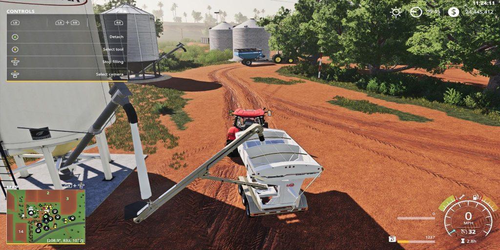 Placeable Fertilizer Station W Auger V1 0 Fs19 Farming