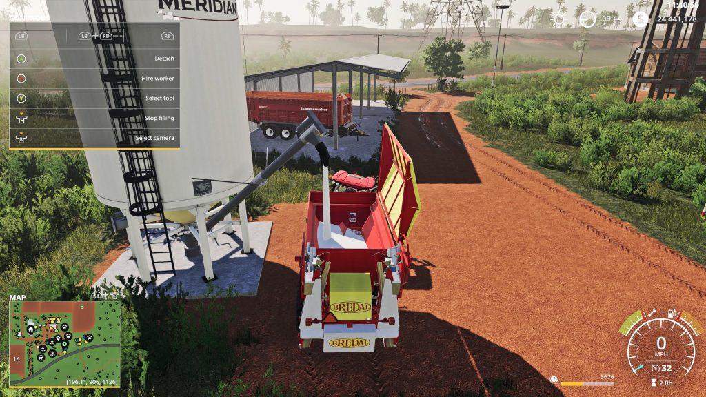 Placeable Lime Station W Auger V1 0 Fs19 Farming