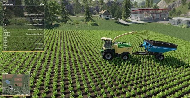 Wagon 1051 for the Hachseln, All Fruit v1 FS19 - Farming