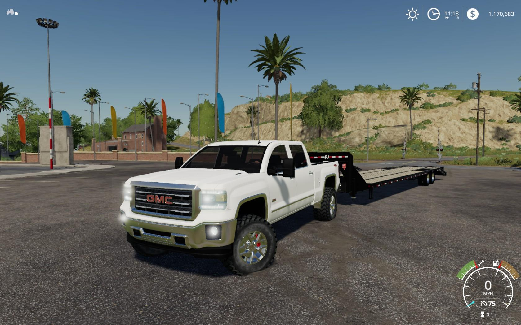 2016 GMC Sierra 2500HD v1.1.0.0 FS19 - Farming Simulator ...