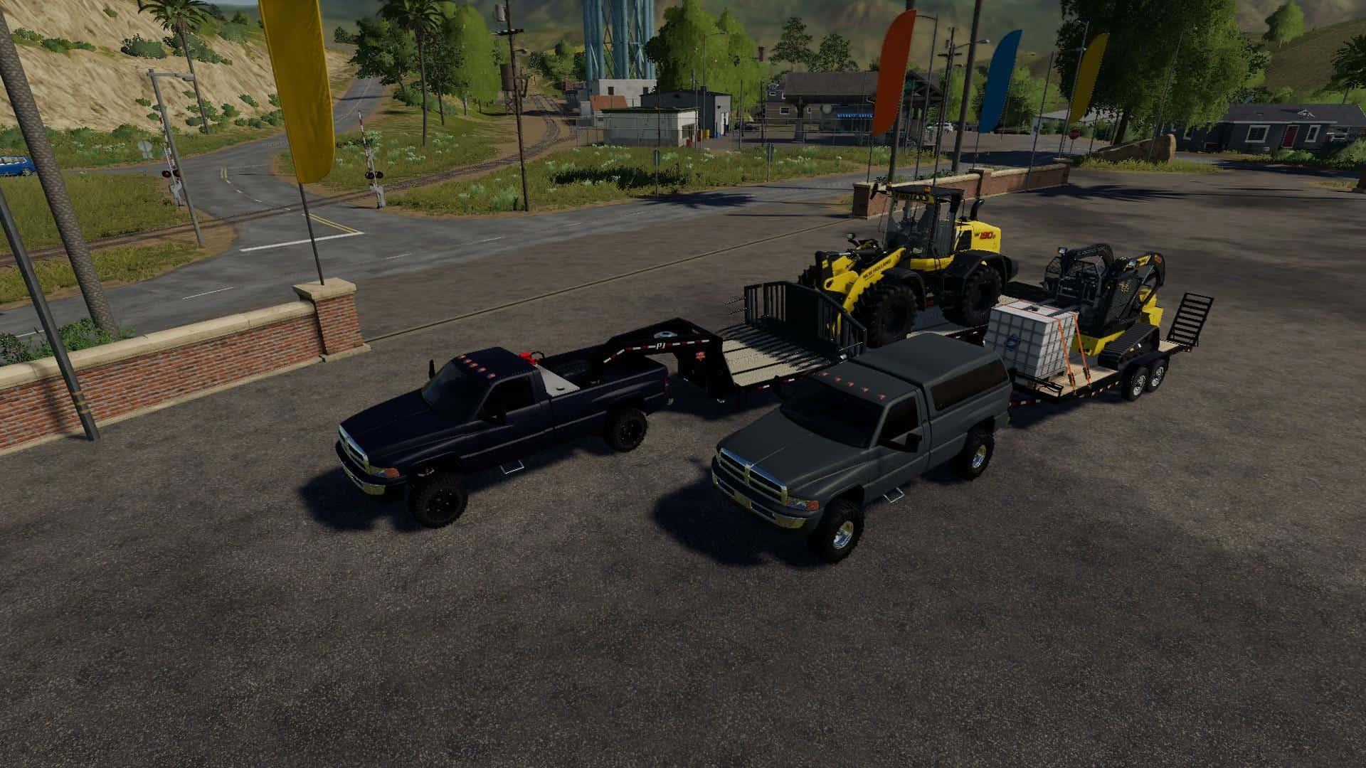 2nd Gen Dodge Regular Cab Longbed V1 0 Fs19 Farming Simulator 19 Mod Fs19 Mod