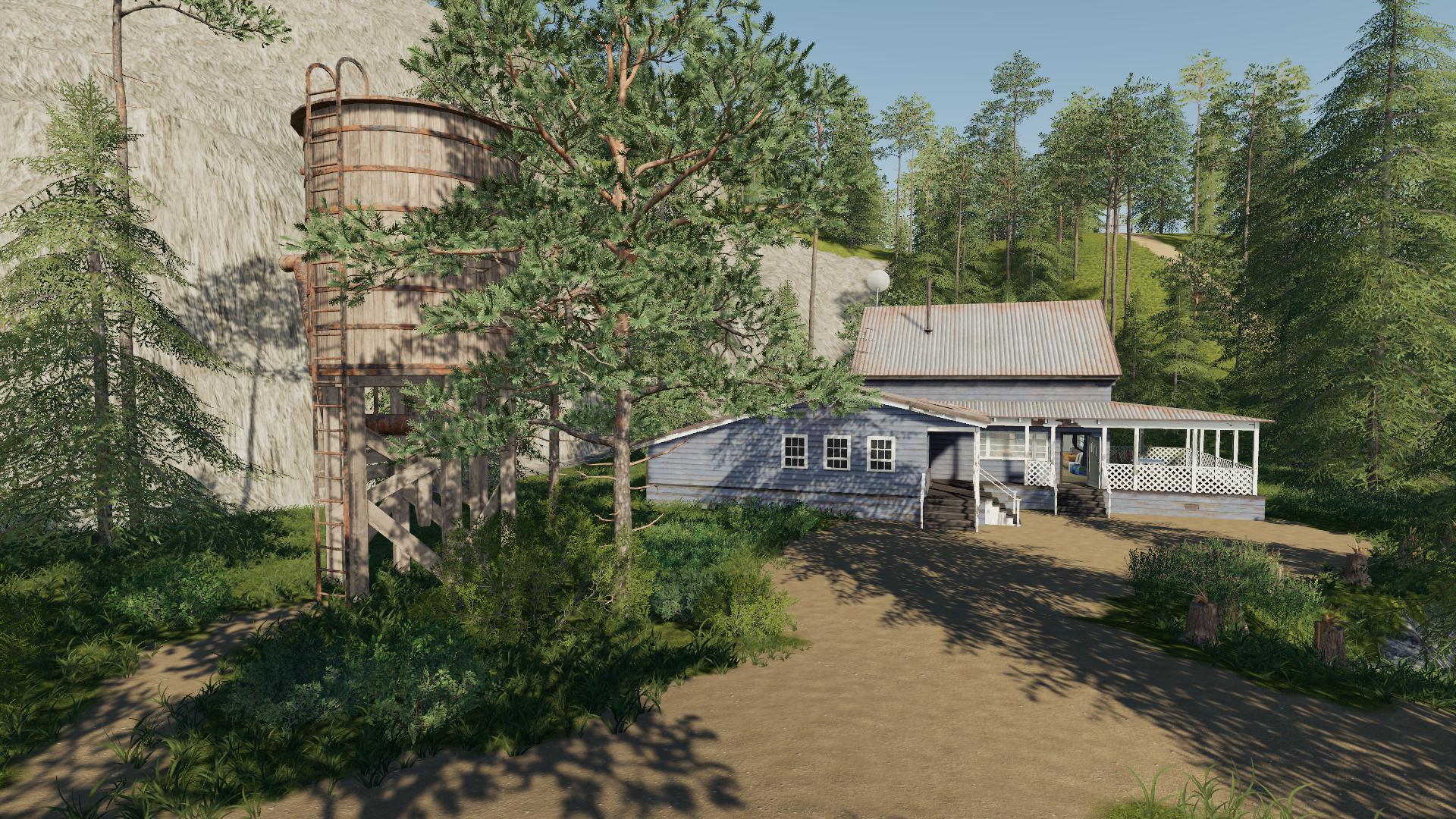 Boulder Canyon Logging Map v1 1 FS19 - Farming Simulator 19