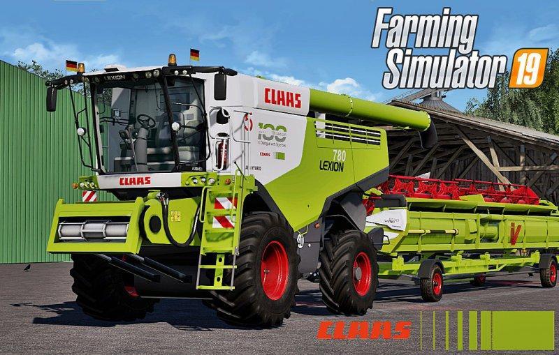 CLAAS LEXION 780 FULL COMIBE PACK V2 0 FS19 - Farming Simulator 19