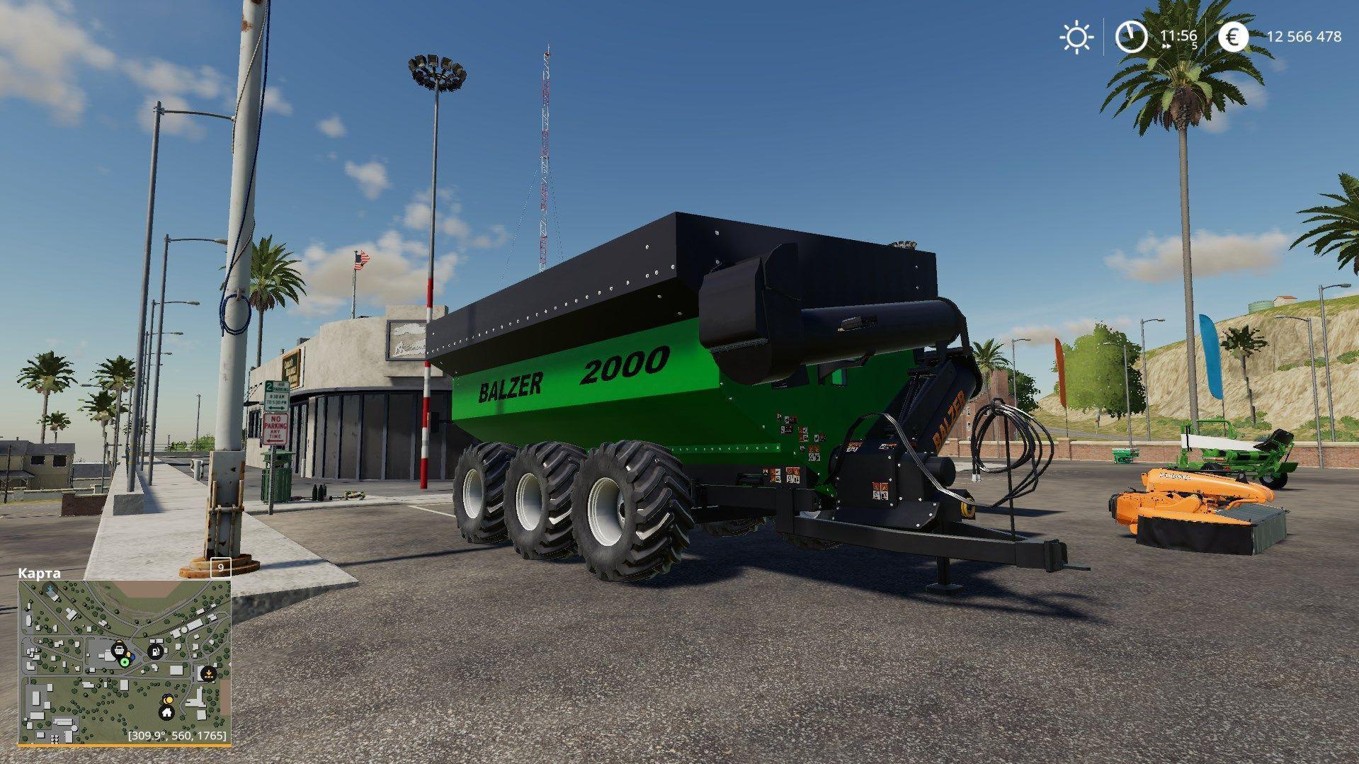 BALZER 2000 GRAIN CART v1 0 FS19 - Farming Simulator 19 Mod