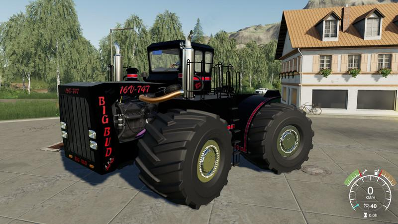 Big Bud 747 >> Big Bud 747 450 Black Beast V1 0 1 1 Fs19 Farming