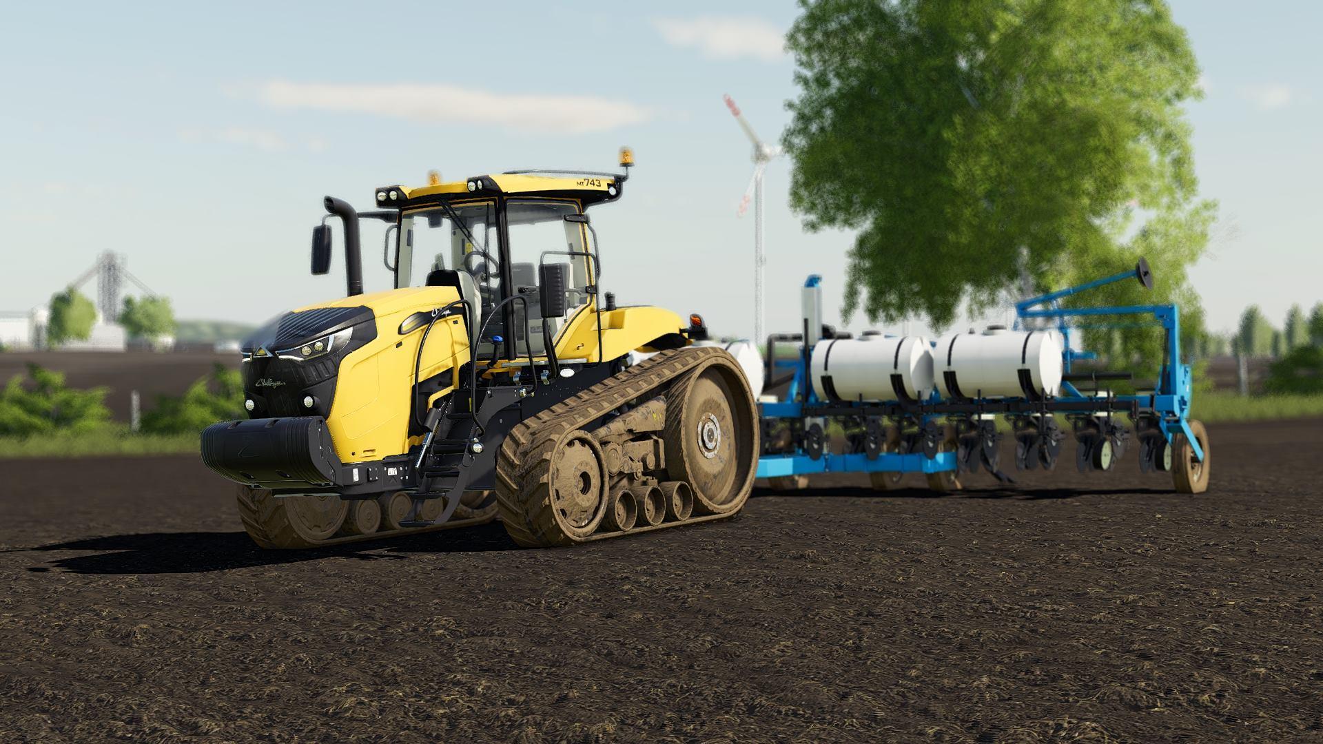Challenger MT700 US v1 0 FS19 - Farming Simulator 19 Mod