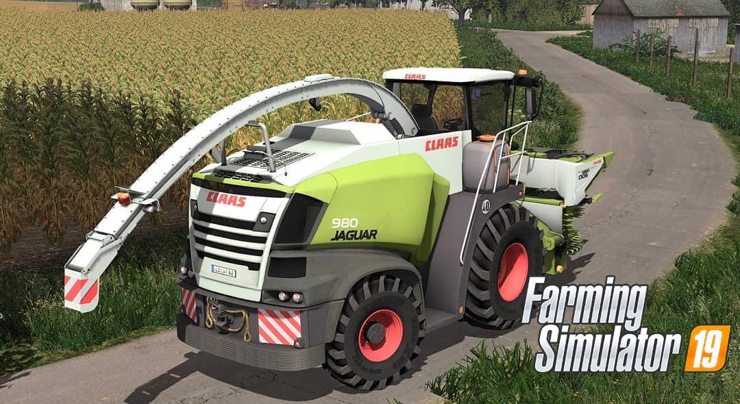 Claas Jaguar 900 Series v1 0 FS19 - Farming Simulator 19 Mod   FS19 mod