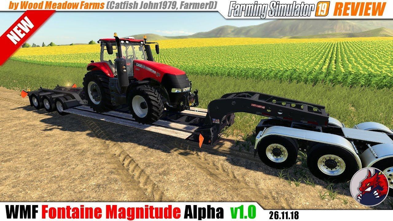 Fontaine Magnitude Fixed v1 0 FS19 - Farming Simulator 19 Mod | FS19 mod