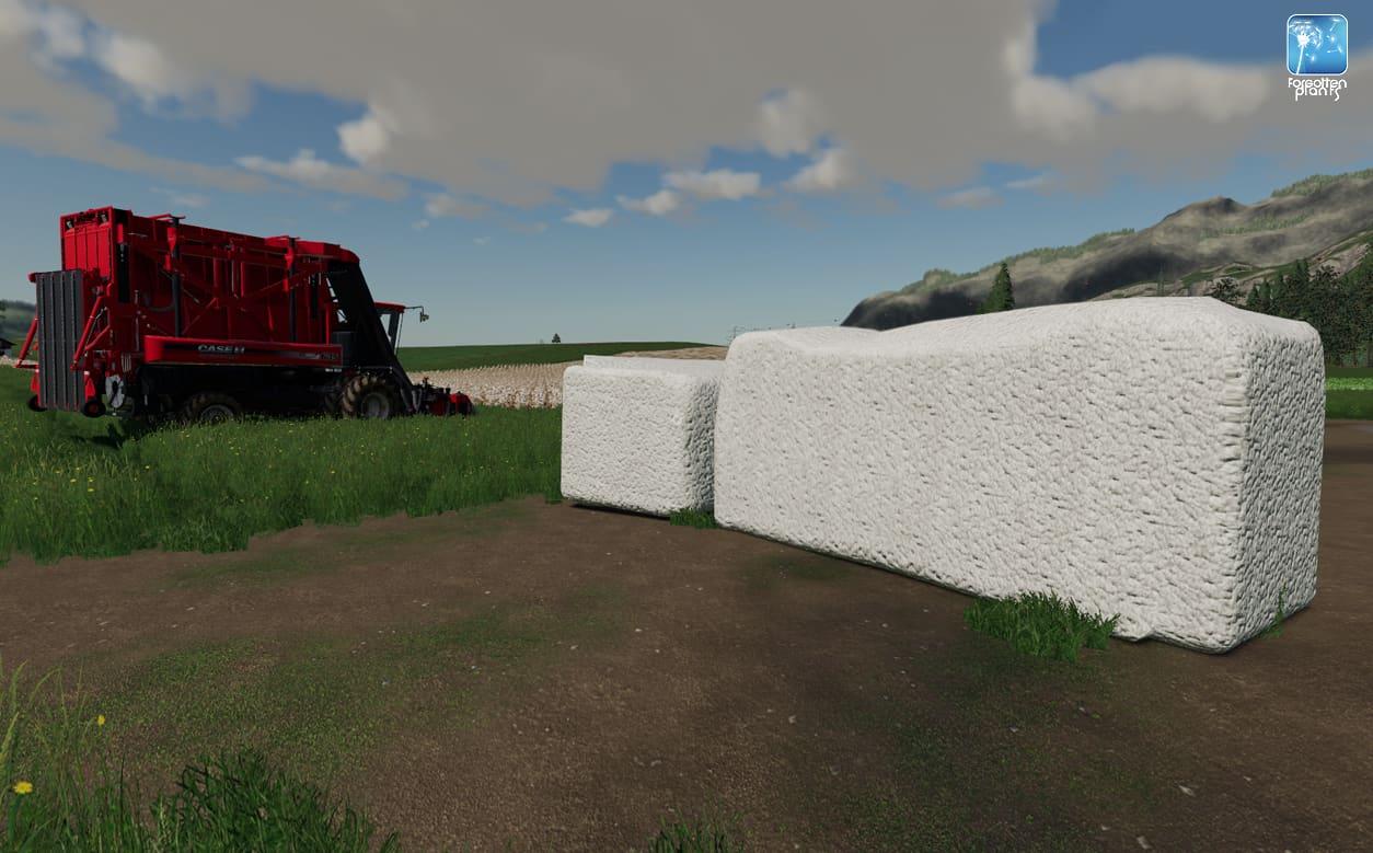 Forgotten Plants – Cotton 1 0 FS19 - Farming Simulator 19 Mod   FS19 mod