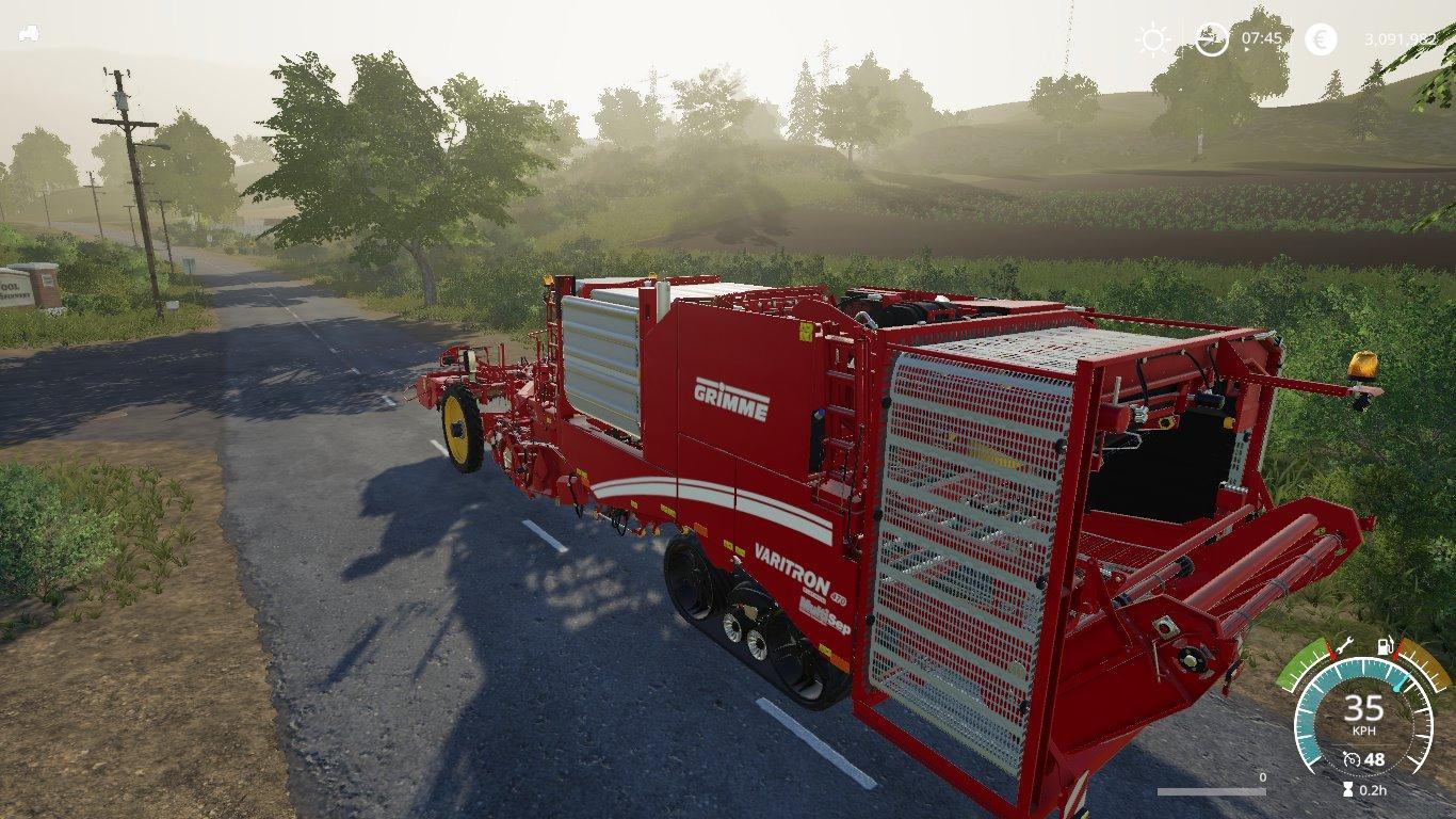 Grimme Varitron 470 potato harvester V1 0 FS19 - Farming Simulator