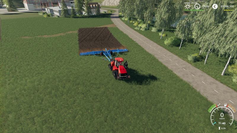 Heliodor 16m plow mod V 1 1 FS19 - Farming Simulator 19 Mod