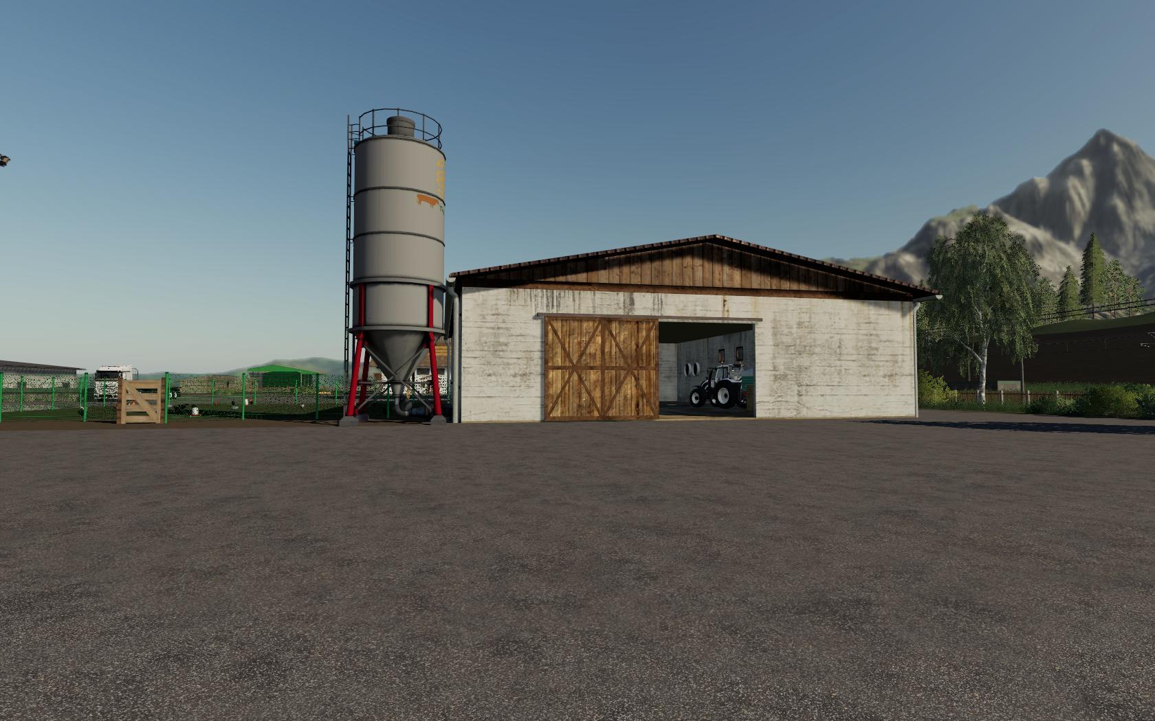 Large Chiken Coop v1 0 FS19 - Farming Simulator 19 Mod