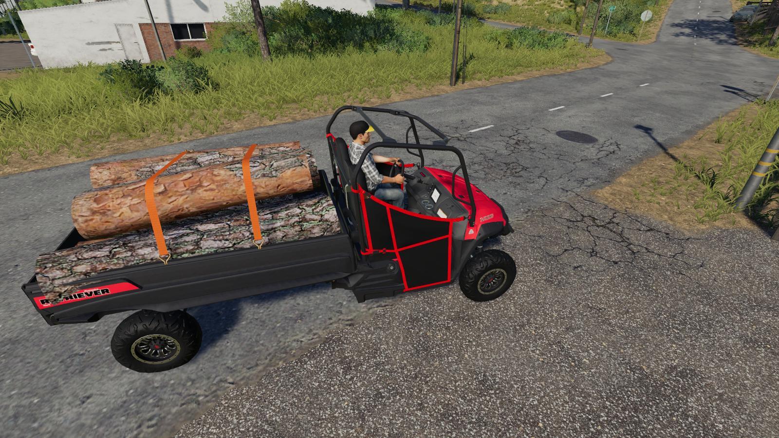 Mahindra Retriever Longbox v2 0 FS19 - Farming Simulator 19 Mod
