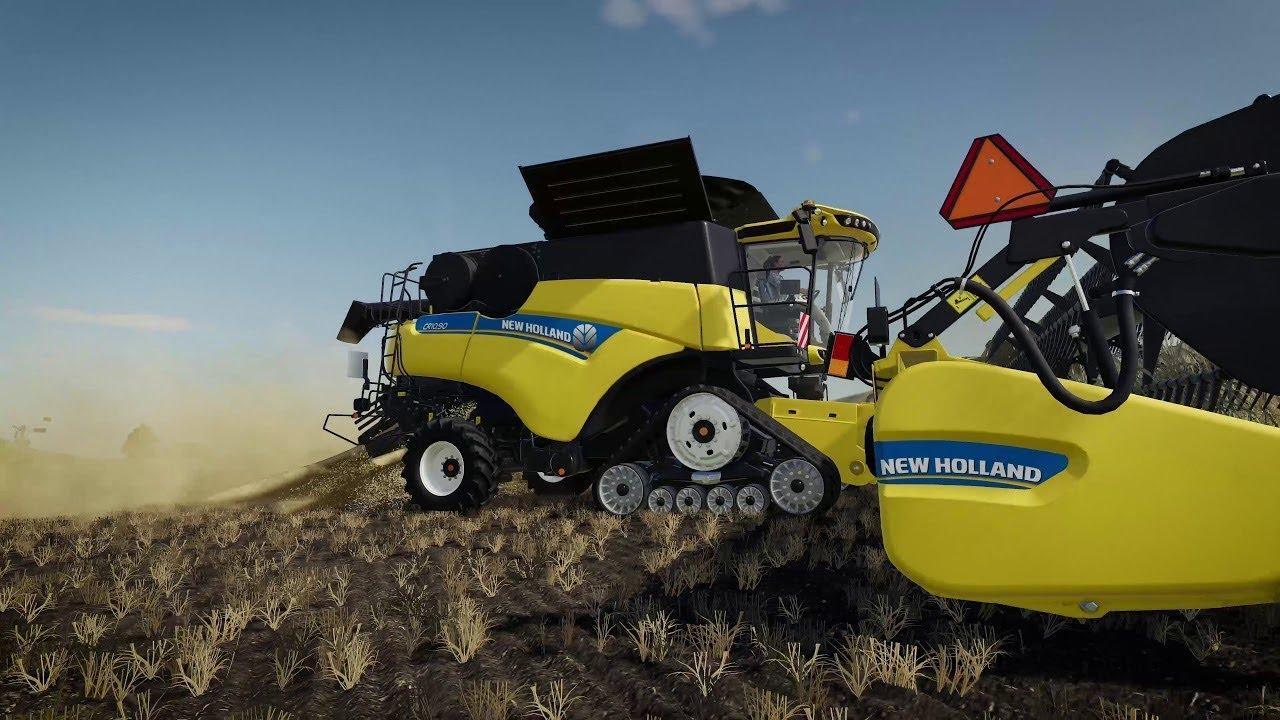 New Holland Featurette v1 0 FS19 - Farming Simulator 19 Mod   FS19 mod