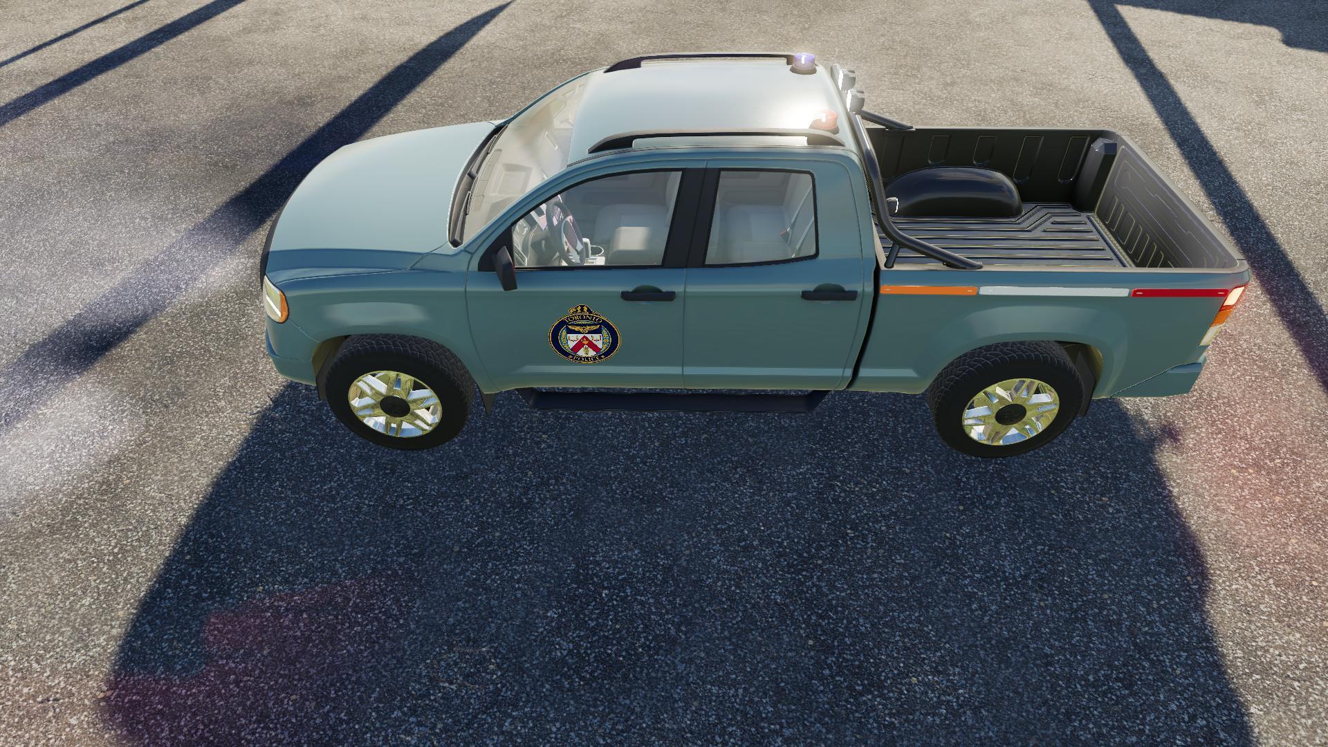 Pickup 2014 Police Edition V1 0 FS19 - Farming Simulator 19