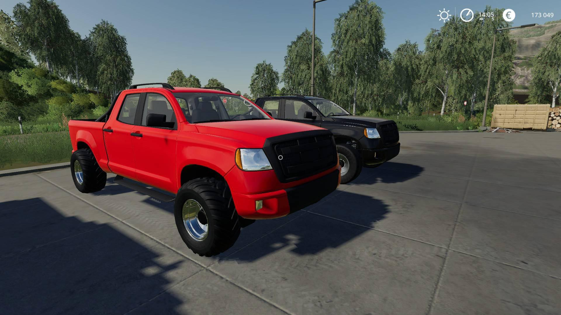 Pickup XM 2014 v1 0 FS19 - Farming Simulator 19 Mod | FS19 mod