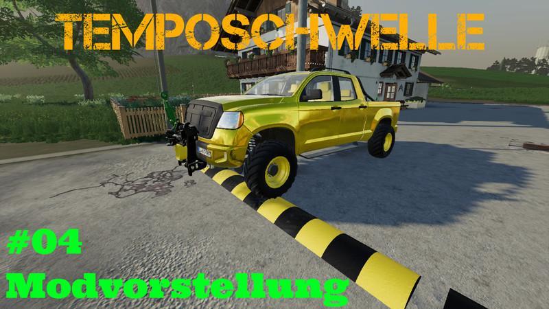 Speed bump v2 0 FS19 - Farming Simulator 19 Mod | FS19 mod