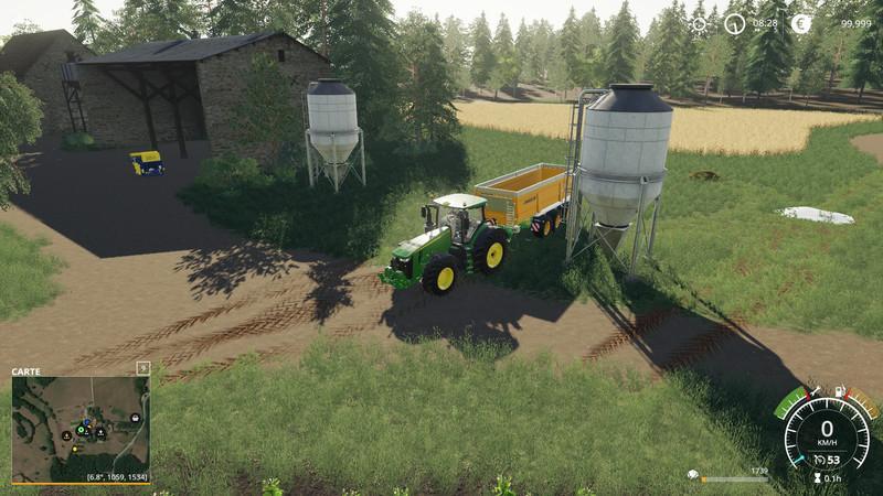 Stationfreefruit 1 v2 1 FS19 - Farming Simulator 19 Mod | FS19 mod