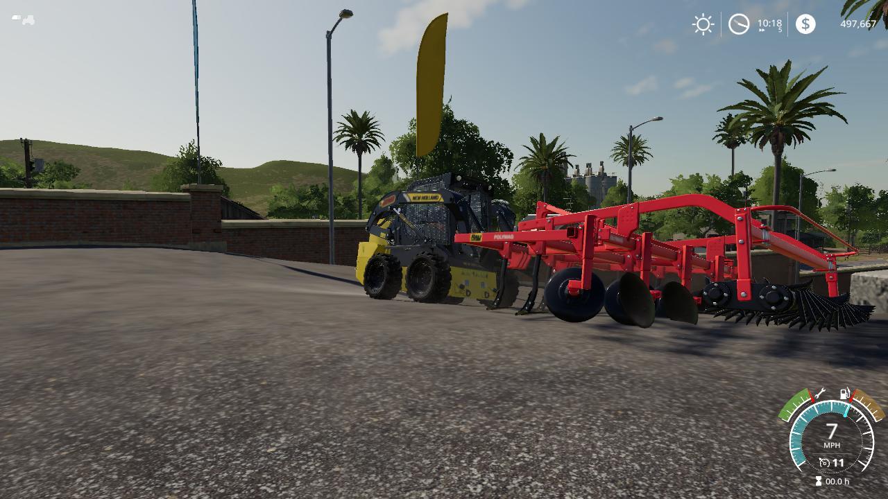 Three Point Conversion Attachment v1 0 FS19 - Farming