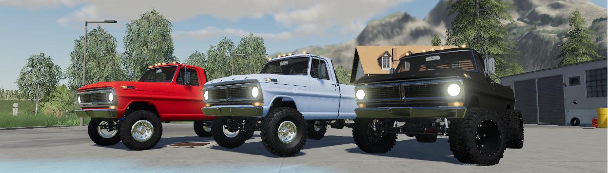 Ford F550 SuperSix v1 1 0 FS19 - Farming Simulator 19 Mod