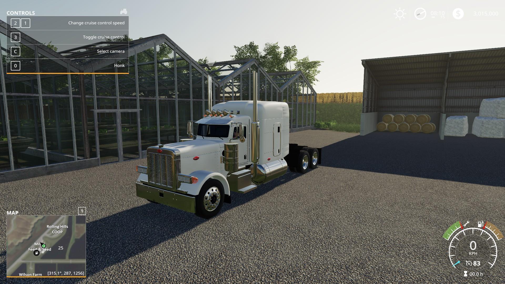1987 Peterbilt 379 Truck v1 1 FS19 - Farming Simulator 19 Mod | FS19 mod