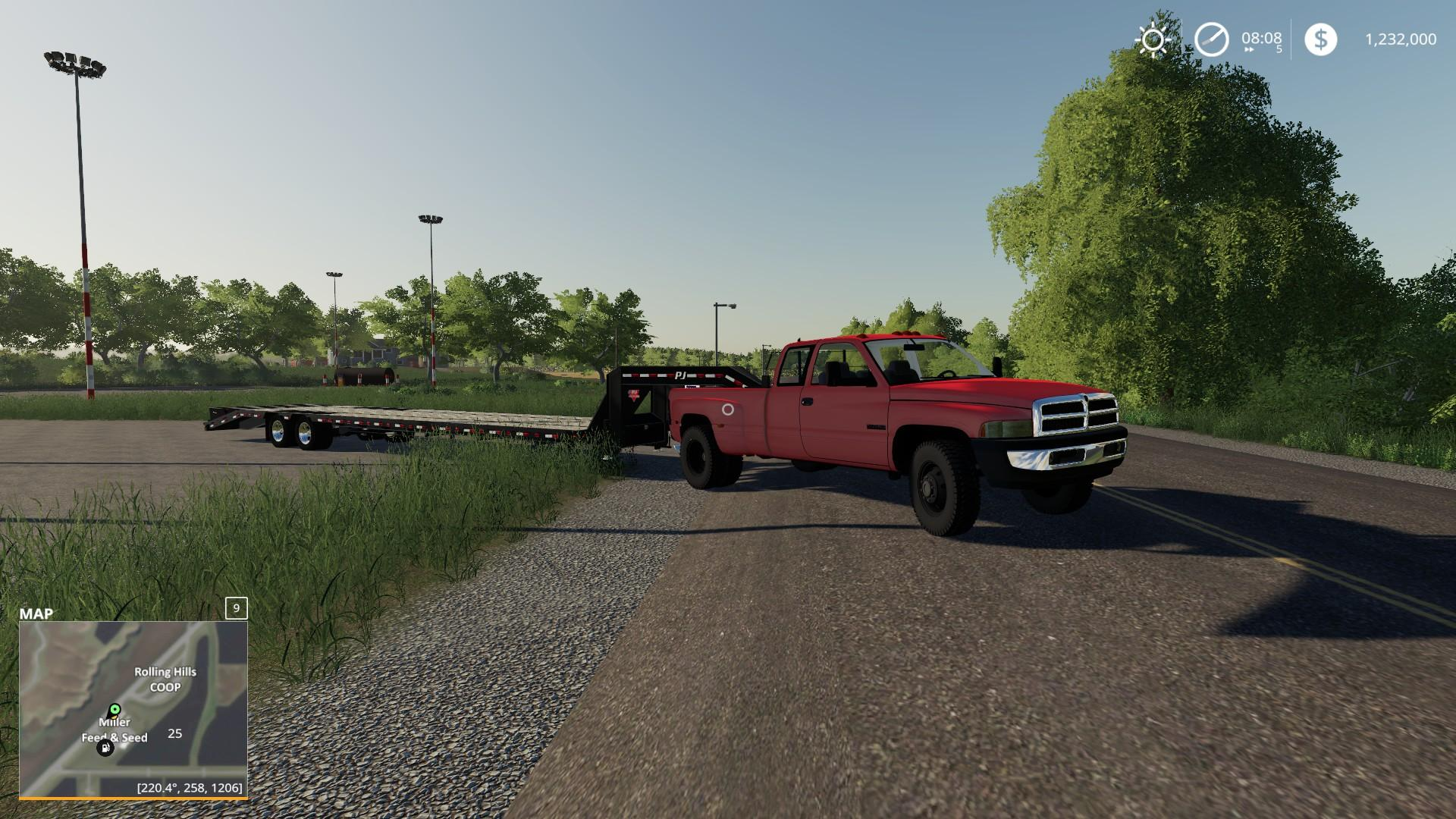 2nd Gen Dodge Ram 3500 V1 0 Fs19 Farming Simulator 19 Mod Fs19 Mod