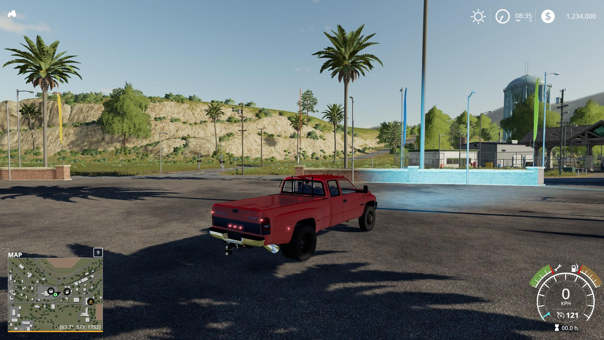 2nd gen Dodge Ram 3500 v1 0 FS19 - Farming Simulator 19 Mod | FS19 mod
