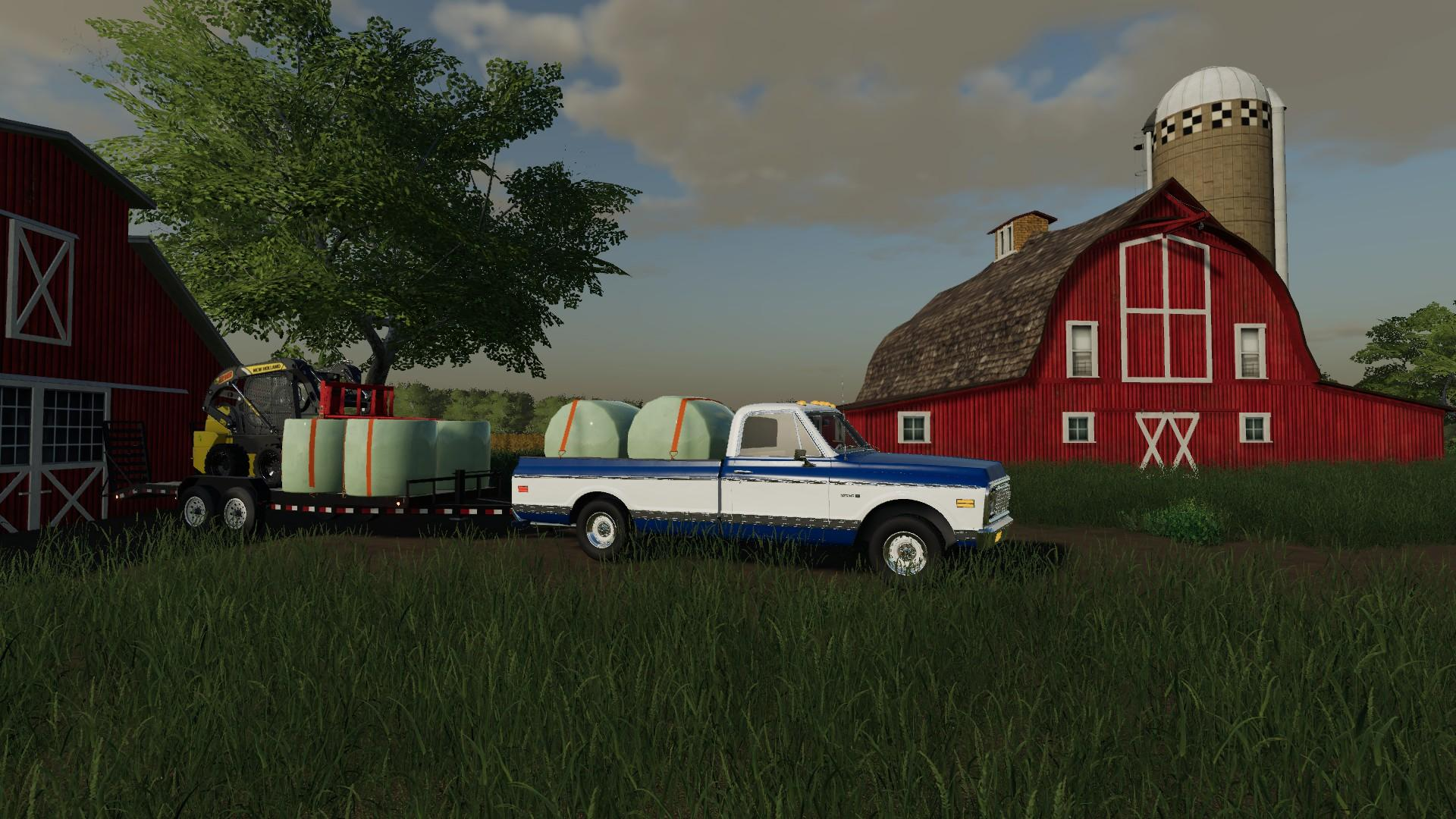 71 Chevy Long Bed v1.0 FS19 - Farming Simulator 19 Mod ...