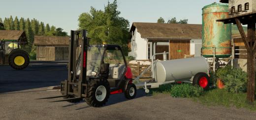 ARCTIC LOG TRAILERS (SUPERB'S) FIXED v1 1 0 0 FS19 - Farming