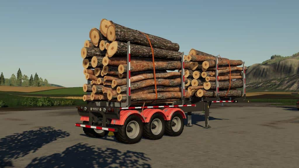 Biobeltz Log Trailer TR 500 v1 0 0 9 FS19 - Farming