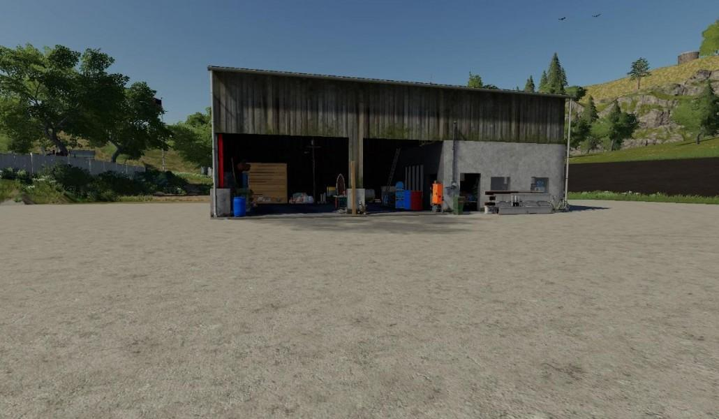 Converted workshop v1 0 FS19 - Farming Simulator 19 Mod