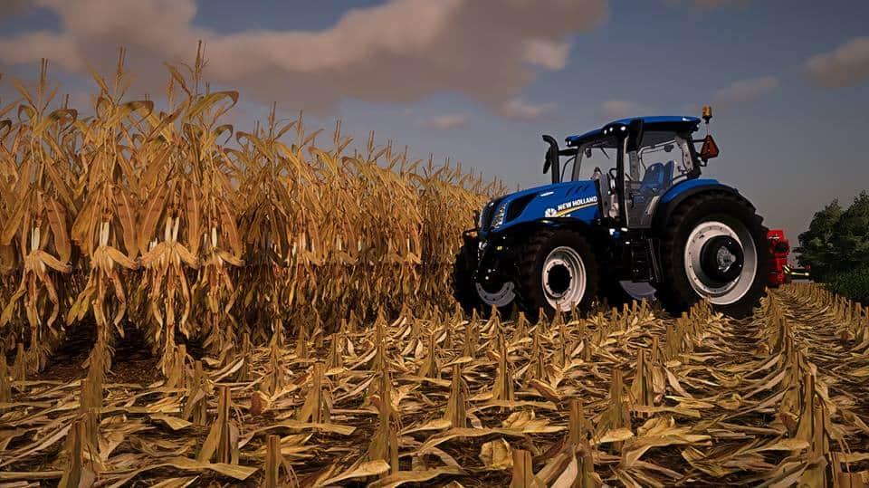 Corn & Beans V2 0 Texture FS19 - Farming Simulator 19 Mod | FS19 mod